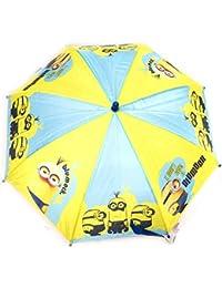 Paraguas infantil Minionsturquesa amarillo (63 cm).