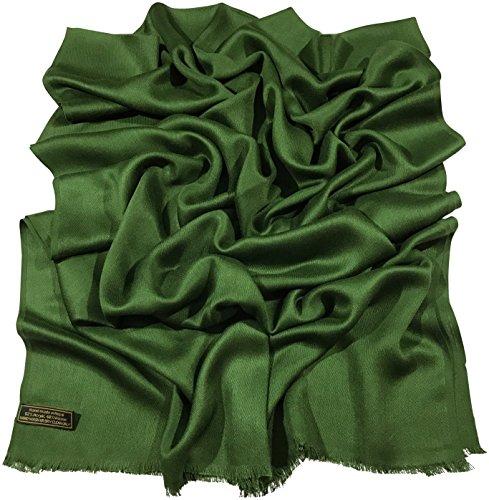dunkelgrn-normallack-design-nepalesischer-fransenschal-pashmina-schal-stola-wurf-cj-apparel