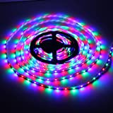 Homeking 44 Key Fernbedienung RGB 3528 LED Strip 5M 300 SMD Streifen Leiste 12V