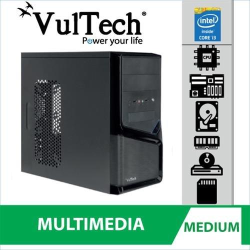 PC Completo Vultech Medium Evo Intel i3-4130 4G...