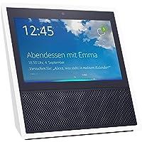 Echo Show (1. Generation), Intelligenter Lautsprecher mit 7-Zoll Bildschirm und Alexa - weiß