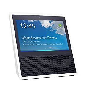 echo show 1 gen intelligenter lautsprecher mit 7 zoll. Black Bedroom Furniture Sets. Home Design Ideas