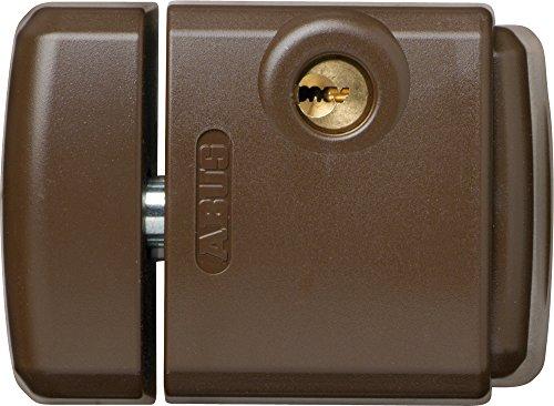 ABUS FTS _ 3003_ B _ C _ N Schloss-Druck mit Halterung für Fenster oder Schiebetür braun Blister