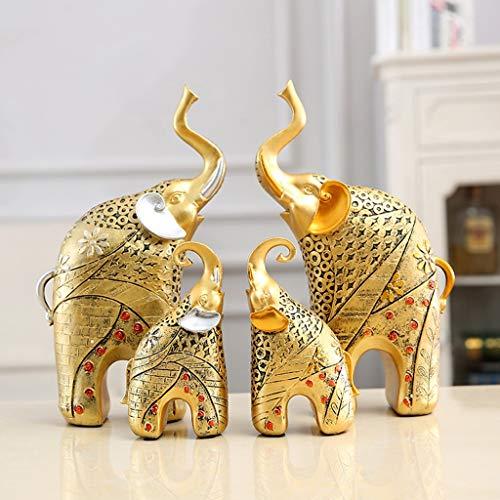 Göttin Kostüm Mutter - Yxyxml Resin Crafts Europäische Antike Mutter Und Kind Elefant Ornamente Startseite Wohnzimmer Weinschrank Trennwände (Color : B)