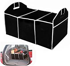 Petrice Car Boot Organizer, Auto Car Trunk Tidy Bag, Collapsible Storage Box, Fold-Able Multi-Use Tools