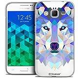Caseink - Coque Housse Etui pour Samsung Galaxy Core Prime (G360) [Crystal HD Polygon...