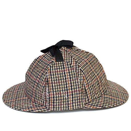 Hombres/Damas/Mujer/Unisexo Gorro de Cazador Sherlock Holmes Sombrero/Gorra Nueva