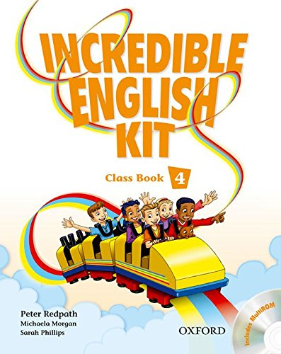 Incredible English Kit 4: Class Book and CD-ROM Pack - 9780194441711