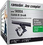 Attelage Amovible pour SKODA FABIA III Break + faisceau 7 broches (144314-13332-1-FR)