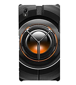 Black Lens Depicting The Power of Photography 3D Hard Polycarbonate Designer Back Case Cover for Sony Xperia Z1 :: Sony Xperia Z1 L39h
