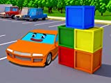 Learn different colors in English with the Fire Truck and the Racing Car