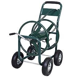Metall Schlauchwagen Schlauchtrommel Schlauchaufroller 80m Gartenschlauch