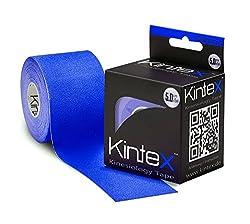 Kintex Kinesiologie Tape Classic Dunkelblau 5cm x5m, Physio-Tape, Therapie-Tape, elastisch, wasserfest