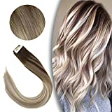 [Promocion] Sunny Extensiones de Cabello Natural Adhesivas 14inch Tape in Human Hair...