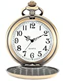 AMPM24-Bronze-Mens-Dragon-Phoenix-Dangle-Pendant-Pocket-Quartz-Watch-Chain-and-AMPM24-Gift-Box-WPK062