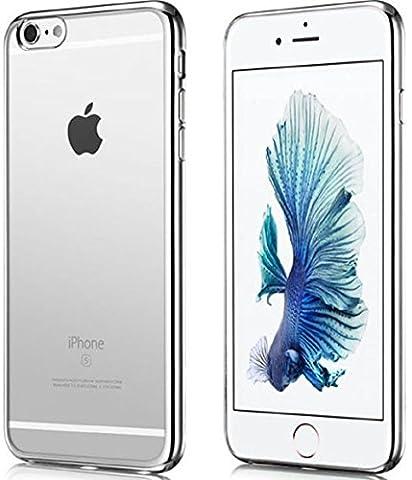 Coque iPhone 6, protection coque iPhone 6, Shopiseller, protection iphone 6, coque gel silicone, coque iphone 6s, etui transparent, etui iphone 6 4.7, housse iphone 6 gris, coque iphone 6 ultra fine, coque iphone 6 ultra-fine