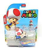 hot Wheels Super Mario Character Cars Toad Vehicle 6/7