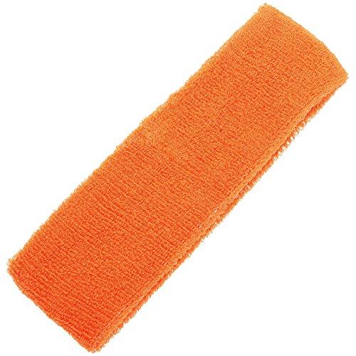 dophee-1pc-sports-sweatband-sweat-headband-yoga-gym-stretch-head-band-hair-band-comfort-kit-orange