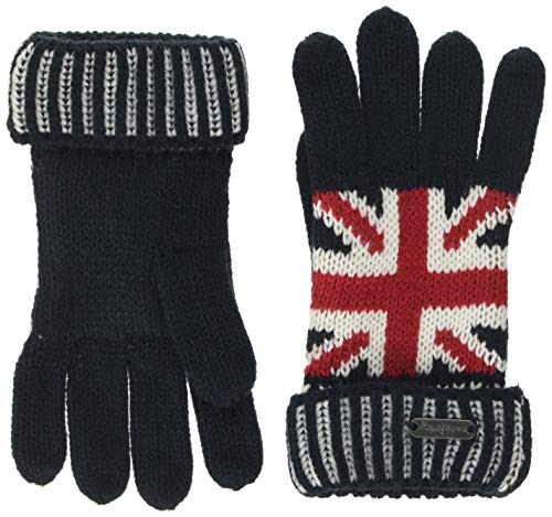 Pepe Jeans Iker Jr Gloves Guanti, (Multi 0aa), Medium Bambino