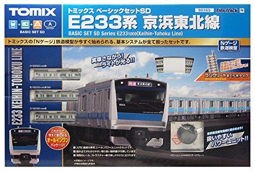 TOMIX N jauge 90 165 Basic Set SD système E233 Keihin-Tohoku