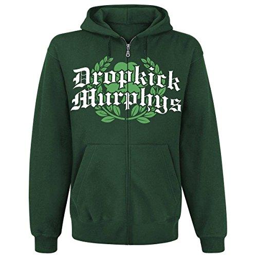 Dropkick Murphys - Piper Kapuzen-Jacke mit Rückendruck Grün
