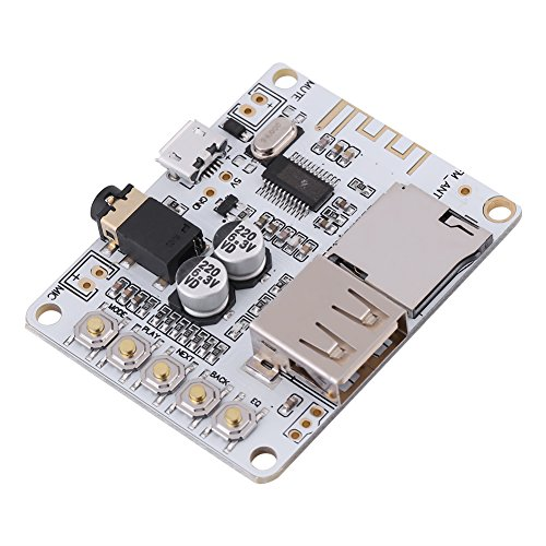 Audio Bluetooth Receiver Modul 4.1 Audio Receiver Audio Receiver Modul Bluetooth 4.1 Platine Verlustfreie Auto-Lautsprecher-Verstärker Audio Board