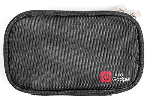 DURAGADGET Für LG K10 | K8 | K4 | Stylus 3, Icefox H1 und Cyrus CS23 Xtreme Smartphones: robuste Schutz-Hülle in Schwarz mit Gürtelschlaufe