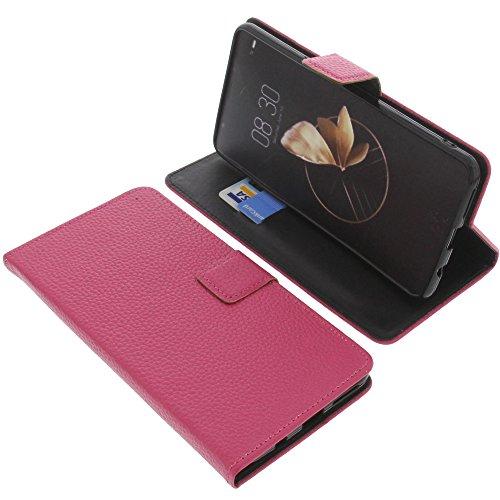 foto-kontor Tasche für Archos Diamond Gamma Book Style Pink Schutz Hülle Buch