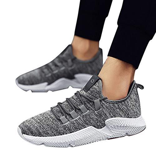 Yanhoo-scarpe uomo donna scarpe da sportive running,sneakers uomo elegante,stivali da equitazione, corsa da uomo leggero e traspirante mesh scarpe casual sneakers moda