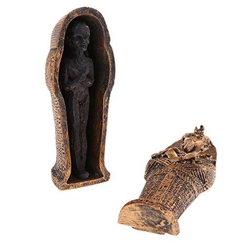 Baoblaze Figure Figurine Black Mummy Decor for Games (3.5x3.8x9.5 cm)