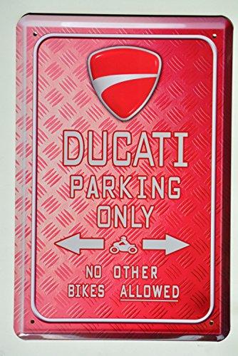 ducati-parking-only-blechschild-parkschild-tin-sign-metallschild-deko