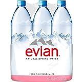 EVIAN Premium Natural Spring Water Natürliches Mineralwasser 6 x 1,25l