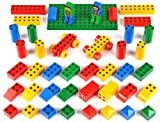 """Klein - 0654 - Jeu de construction - Set Ecole Manetico """"Starter"""" 43 pièces, sous sachet"""