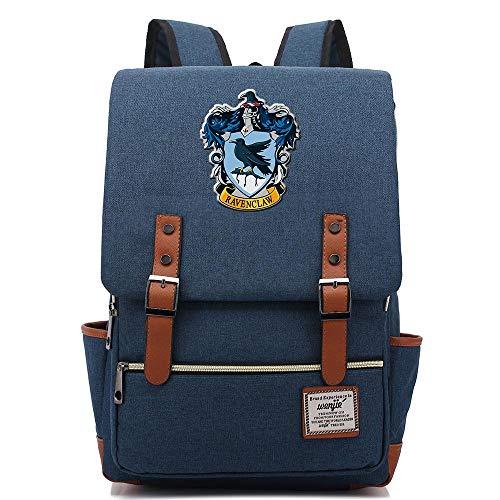 Mochila Harry Potter, portátil de Ocio Mochila Hogwarts Escuela Escuela Bolsa Chica de Moda Bolsas...
