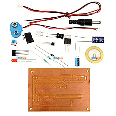 KitsGuru DIY Kit - Piezo Electric Buzzer : LGKT106 Electronics Mini Projects