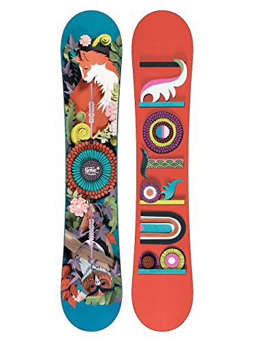 Burton genie, snowboard donna, no color, 147