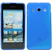 Huawei Ascend Y300silicone custodia rigida protettiva in blu marine @ Energmix