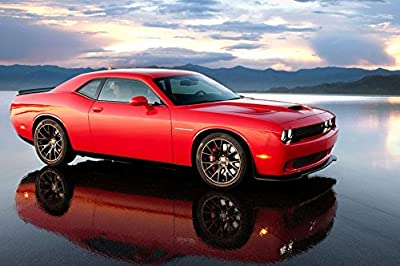 Dodge Challenger (21x14 inch, 36x24 inch) Silk Poster PJ1C-BCAA by Wall Station