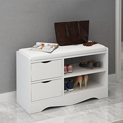 ZXQZ Repose-pieds multifonctionnel / meuble moderne de chaussure de porte / tabouret de sofa / support de chaussure de stockage repose-pieds de stockage ( Couleur : A , taille : 80cm )