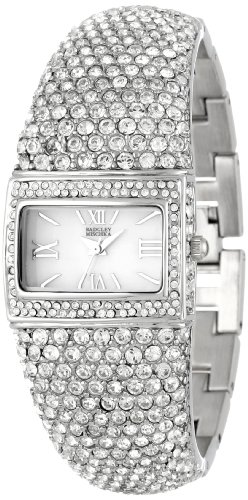 badgley-mischka-womens-ba-1155mpsv-swarovski-crystal-covered-silver-tone-bangle-watch