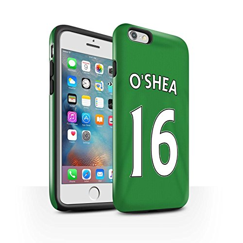 Offiziell Sunderland AFC Hülle / Glanz Harten Stoßfest Case für Apple iPhone 6+/Plus 5.5 / Pack 24pcs Muster / SAFC Trikot Away 15/16 Kollektion O'Shea