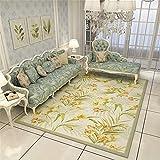 RENYAYA Kinder Floor Rug Baby Crawling Mat Play Carpet farbenfrohe romantische Blumen Für Kinderzimmer,160 * 230cm