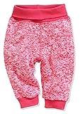 Schnizler Unisex Baby Pump-Hose Strickfleece Mit Strickbund Jogginghose, Rosa (Pink 18), 74