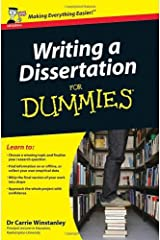 By Carrie Winstanley Writing a Dissertation For Dummies by Winstanley, Carrie ( Author ) ON Jun-19-2009, Paperback Paperback