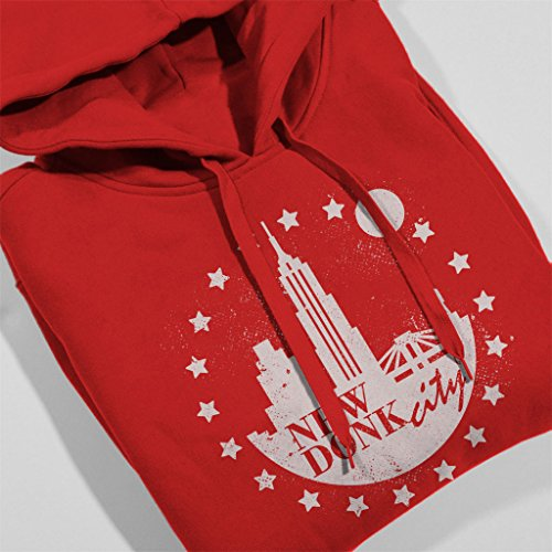 New Donk City Donkey Kong Women's Hooded Sweatshirt Red