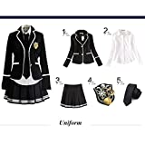 URSFUR Mädchen Japan Kostüm Langärmelige Anzug Cosplay Uniform Anime Uniform - Stil 14-XL -