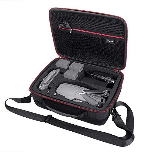 Smatree Housse de Transport pour DJI Mavic 2 Pro/DJI Mavic 2 Zoom Drone, Rangement 3 Batteries de Drones, Chargeur de Batterie et télécommande