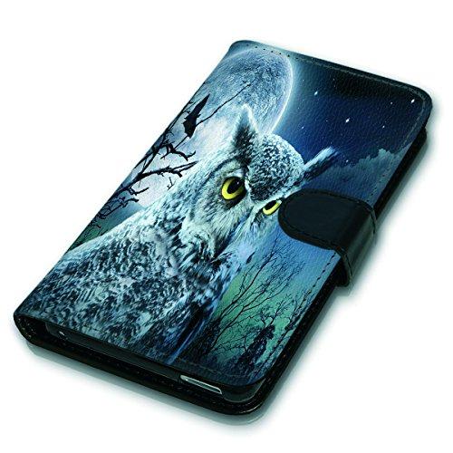 Wallet Book Style Flip Handy Tasche Case Schutz Hülle Schale Motiv Etui für Apple iPhone 6 / 6S - Variante Flip UMV13 Design12 Design 6
