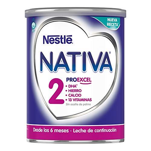 NESTLÉ NATIVA 2 - Leche continuación polvo - Fórmula