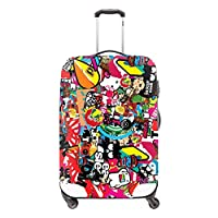 CrazyTravel Trolley Case Luggage Protectors Covers Travel Suitcase